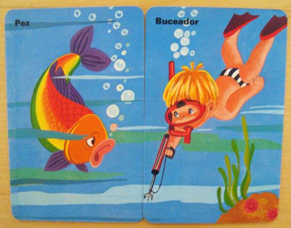 Parejas del Mundo pez buceador