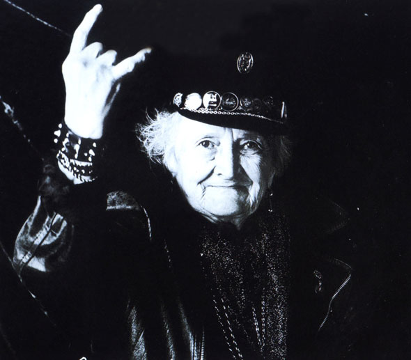 Abuela-rockera