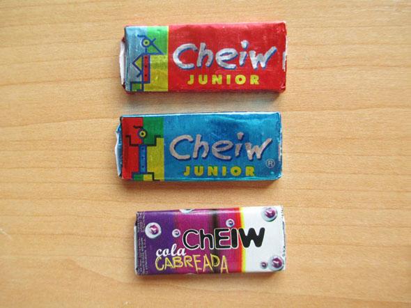 Cheiw-chicles-varios