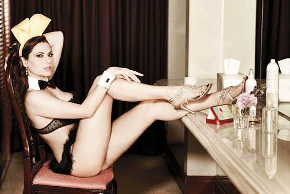 Yolanda Parchis Playboy portada