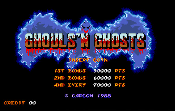 Ghouls and ghost